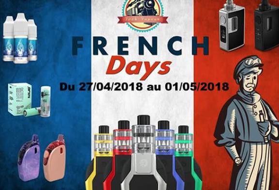 """GUTER PLAN: Tech-Steam startet die """"French Days"""" mit 15% Rabatt auf die gesamte Site!"""