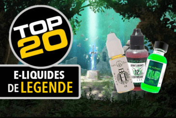 LET'S TALK E-JUICE: The top 20 of e-liquids that deserve the status of legend!