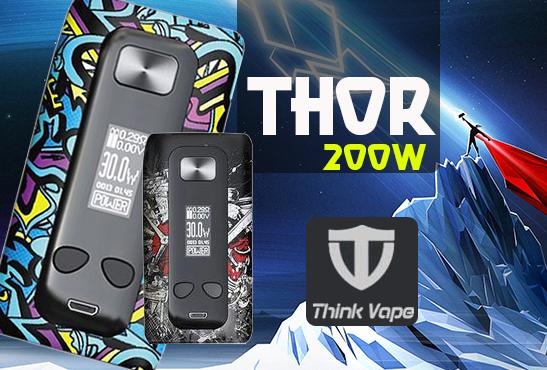 Αποτέλεσμα εικόνας για Box Thor 200W TC - Think Vape