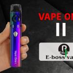 INFO BATCH : Vape One 2 (E-bossvape)