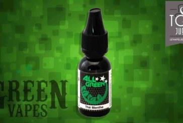 REVUE / TEST : Thé Menthe (Gamme All Green) par Green Vapes
