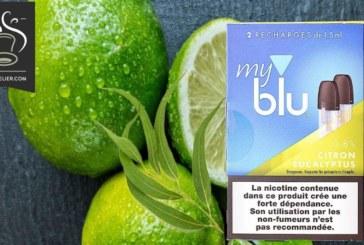 REVUE / TEST : Citron Eucalyptus (Gamme myblu) par blu
