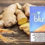 REVUE / TEST : Gingembre Ginseng (Gamme myblu) par blu