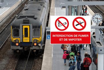BELGIO: aumento della verbalizzazione dei vapers nei treni.