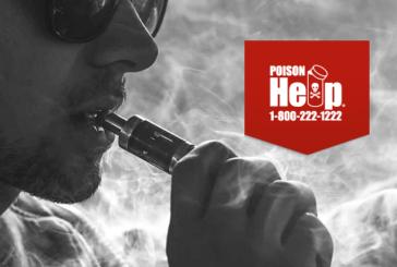ÉTATS-UNIS : Le centre anti-poison recense plus de 920 expositions à l'e-cigarette depuis le début d'année.