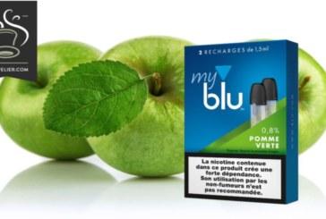 TEST / REVUE : Pomme verte (gamme myblu) par blu
