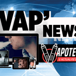 VAP'NEWS: The e-cigarette news of Friday 7 September 2018.