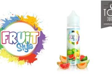 REVUE / TEST : Water Bomb (Gamme Fruit Style) par e-Chef