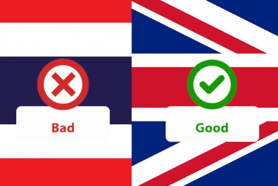 POLITICA: la Tailandia è il paese peggiore per le sigarette elettroniche.