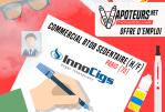 JOB-AANBIEDING: Commercial BtoB sedentary (M / F) - Innocigs - Paris (75)