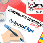 JOB AANBIEDING: Sedentaire BtoB Commercial (H / F) - Innocigs - Parijs (75)
