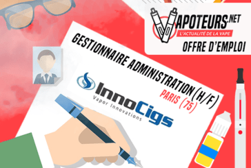 JOB AANBIEDING: Sales Administration Manager (M / F) - Innocigs - Parijs (75)