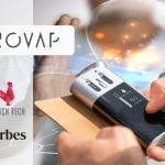 ECONOMIE : Enovap et sa e-cigarette intelligente dans le classement de la French Tech.