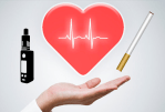 מחקר: כמה שיותר סיכונים קרדיווסקולריים בסיגריות אלקטרוניות כמו בעישון.