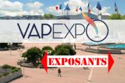 CULTURE : Vapexpo dévoile la liste des exposants du prochain salon !