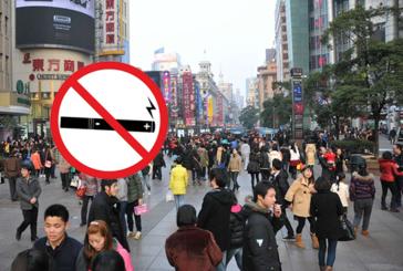 CHINA: Regelgevers eisen een verbod op e-sigaretten in de openbare ruimte.