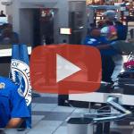 VS: ontgassing van een accumulator in bagage op Savannah Airport