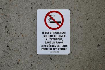 CANADA : La mesure des «9 mètres» contre le tabagisme n'est pas comprise.