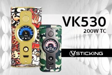 מידע נוסף: VK530 200W (VSticking)
