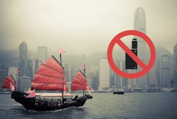 HONG KONG: il governo impone il divieto totale di e-sigarette!