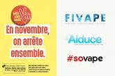 COMMUNIQUE : La FIVAPE est partenaire du Moi(s) sans tabac !
