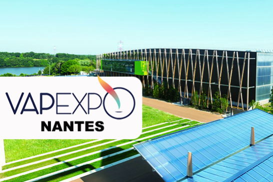 VAPEXPO : La prochaine édition printanière du salon aura lieu à Nantes !
