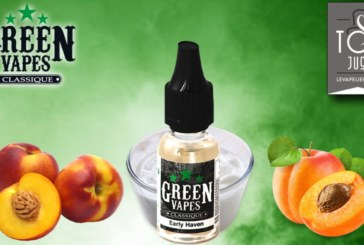 REVUE / TEST : Early Haven (Gamme Green Vapes) par Green Liquides
