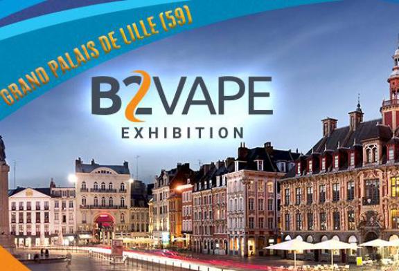 תרבות: תערוכת B2Vape, מופע חדש של סיגריה אלקטרונית מגיע לצרפת!