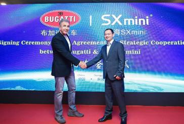 ECONOMIA: SX Mini, produttore di sigarette elettroniche, firma una partnership prestigiosa con Bugatti!