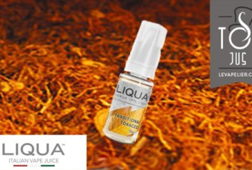 REVIEW / TEST: Traditional Tobacco (Elements Range) by Liqua