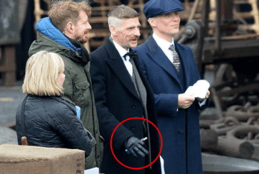 PEOPLE: The e-cigarette is needed on the set of the series Peaky Blinders
