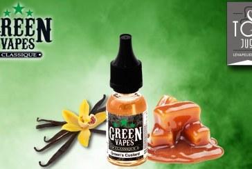 RECENSIONE / PROVA: Green's Custard (Green Vapes Range) di Green Liquides