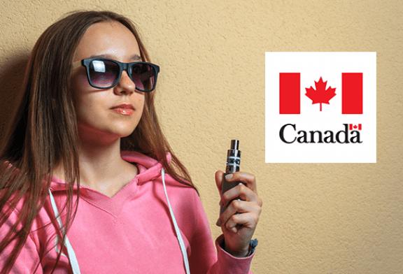 CANADA : 75% d'augmentation de l'utilisation de l'e-cigarette chez les jeunes