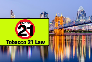 USA: The city of Cincinnati Ohio prohibits the sale of e-cigarettes to less than 21 years.