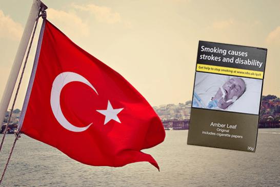 Τουρκία: Η χώρα υιοθετεί νόμο για το ουδέτερο πακέτο προϊόντων καπνού.