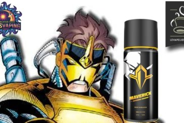 REVIEW / TEST: Maverick (Super Heroes Range) van My's Vaping