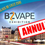 CULTURE: The B2Vape Exhibition canceled due to insufficient filling.