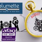 ΟΙΚΟΝΟΜΙΑ: Ο Calumette, πρώτος διανομέας του vpe για να αποκτήσει την πιστοποίηση ISO 9001 του AFNOR.