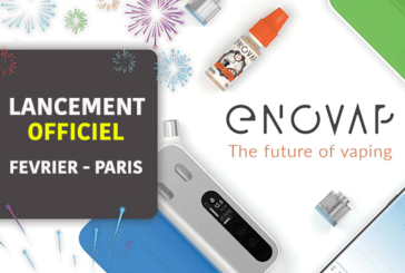 TECHNOLOGY: Official launch of the Enovap e-cigarette in Paris in February.