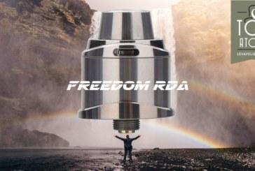 REVUE / TEST : Freedom RDA par 5gVape