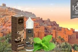 Revue / בדיקה: Ouarzazate (תה מהדורה) על ידי Curieux Eliquides