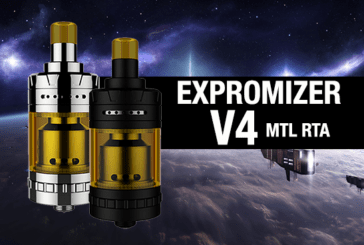 INFO BATCH : Expromizer V4 MTL RTA (Exvape)