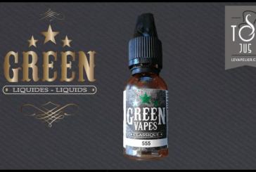 סקירה / בדיקה: 555 (ירוק Vapes קלאסי טווח) על ידי גרין Liquides