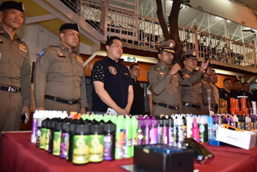 THAILAND: A new raid against the e-cigarette, 18 people arrested in Bangkok.