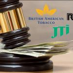 CANADA: tabaksfabrikanten hebben besloten om 15 miljard dollar te betalen aan tabaksslachtoffers