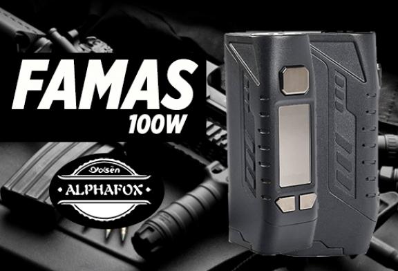 INFORMACIÓN DEL LOTE: Famas 100W (Alphafox)