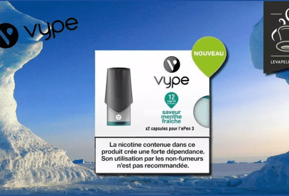 REVIEW / TEST: Frische Minze von Vype
