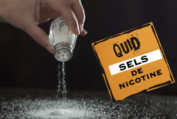 DOSSIER: What about the beginner on e-liquids with nicotine salts.