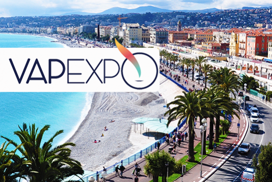 VAPEXPO: The 2020 spring edition will take place in Nice!