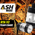 FLASHWARE : Glaz RTA V2 (Steam Crave)